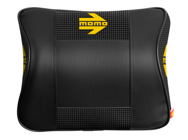 MOMO Sitzpolster Comfort Carbon Nacken Carbon/ schwarz