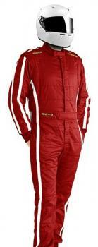 MOMO Rennfahreranzug Pro Racer Gr.62 rot  F.I.A.  8856-2000