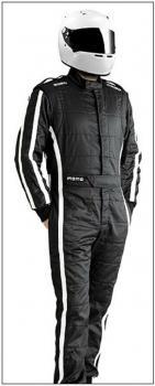 MOMO Rennfahreranzug Pro Racer Gr.64 schwarz F.I.A.  8856-2000